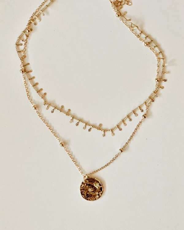 Bohdi Gold Double Chain Necklace